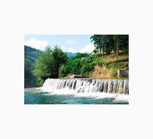 River Cascade Near Jajce Waterfall Unisex T-Shirt