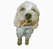 Dog Smoking a Blunt Unisex T-Shirt