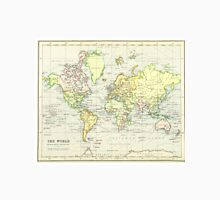 Vintage Map of The World (1899) Unisex T-Shirt