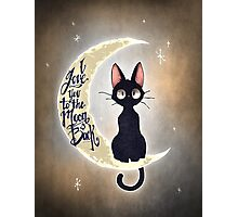 I love you to the moon & back Photographic Print