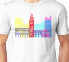 Bergamo skyline pop Unisex T-Shirt