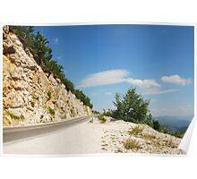 Landscape Near Makljen Poster