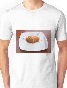 Baklava on White Plate Unisex T-Shirt