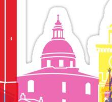 Bologna skyline pop Sticker