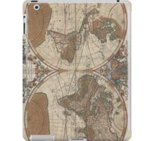Vintage Map of The World (1691) 2 iPad Case/Skin