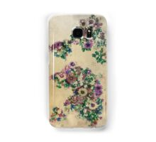 floral world map Samsung Galaxy Case/Skin