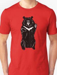 Black himalayan bear Unisex T-Shirt