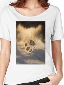 Corgi Butt & Paw Women's Relaxed Fit T-Shirt