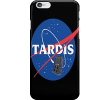 Tardis Nasa Space Program iPhone Case/Skin