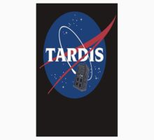 Tardis Nasa Space Program One Piece - Short Sleeve