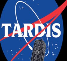 Tardis Nasa Space Program Sticker