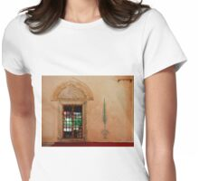 Karadjozbey Mosque in Mostar Womens Fitted T-Shirt