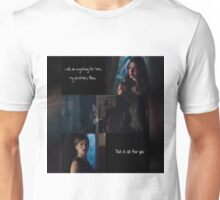 Isabelle loves as fiercely as she fights.  Unisex T-Shirt