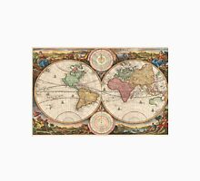 Vintage Map of The World (1730) Unisex T-Shirt