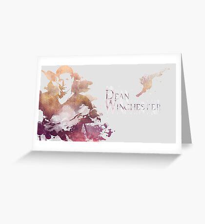 Supernatural 5 Greeting Card