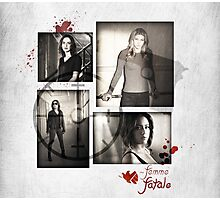 Women of SHIELD - Femme Fatale Photographic Print