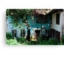 Derelict Building in Travnik Canvas Print