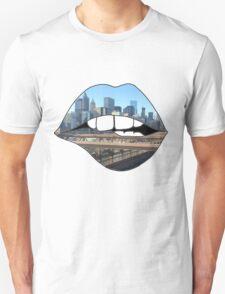 New York Lips Unisex T-Shirt