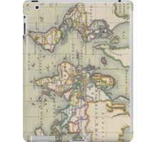 Vintage Map of The World (1766) iPad Case/Skin