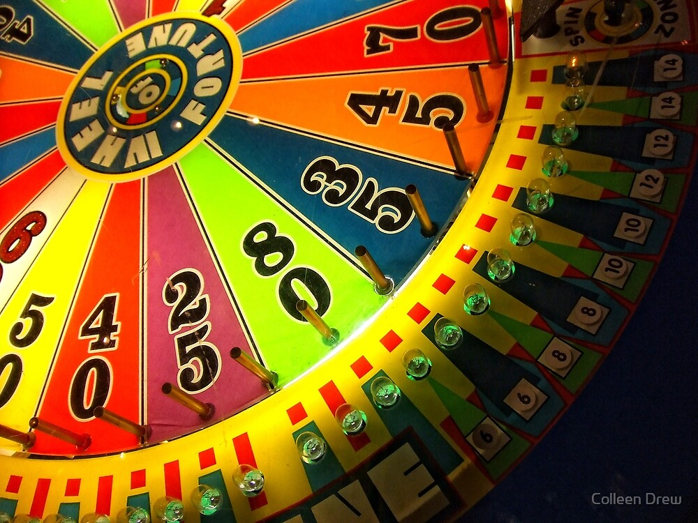 Wheel of Fortune by Colleen Drew