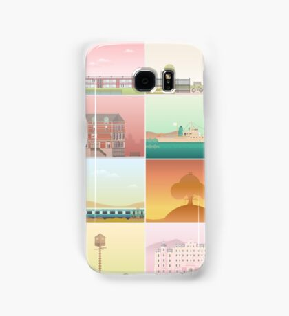 The Films of Wes Anderson Samsung Galaxy Case/Skin