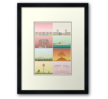 The Films of Wes Anderson Framed Print