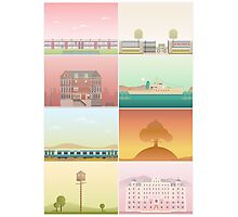 The Films of Wes Anderson Photographic Print