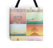 The Films of Wes Anderson Tote Bag