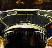 Vintage Rolls Royce Sticker