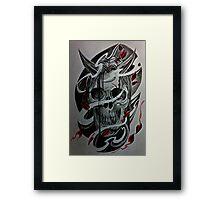 Hannya Framed Print
