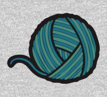 Wool & Yarn Pattern One Piece - Long Sleeve