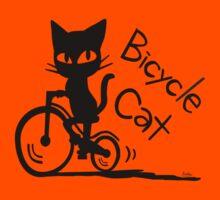 Bicycle Cat Kids Tee