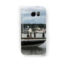 Stormy Day At The Harbor Essex CT Samsung Galaxy Case/Skin