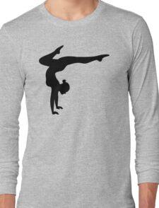 B&W Contortionist Long Sleeve T-Shirt