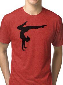 B&W Contortionist Tri-blend T-Shirt