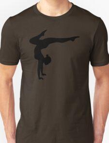 B&W Contortionist Unisex T-Shirt