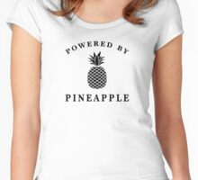 Powered by Pineapple Women's Fitted Scoop T-Shirt