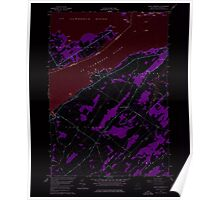 New York NY Saint Lawrence 129291 1958 24000 Inverted Poster