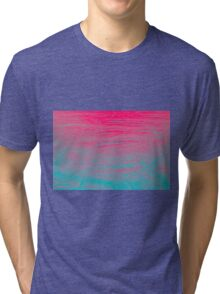 Yachats Oregon - Molten Sand Design Tri-blend T-Shirt