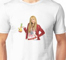 Hannah Montana with a Bong Unisex T-Shirt