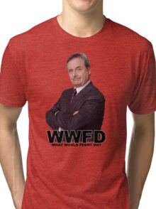 what would feeny do? Boy meets world Tri-blend T-Shirt