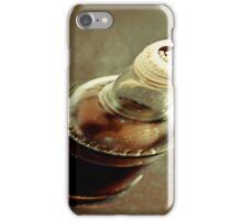 glass half empty or glass half full iPhone Case/Skin
