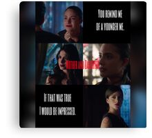 Mother and Daughter - The Lightwoods  Canvas Print