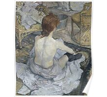 Henri de Toulouse-Lautrec  - Rousse (1889) Poster