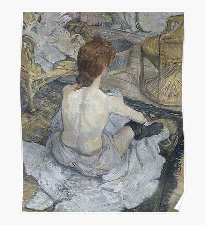 Henri de Toulouse-Lautrec  - Rousse (1889) Woman Portrait Fashion Poster