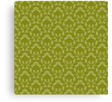 Abstract floral pattern Canvas Print