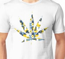 Mighican Weed Leaf Unisex T-Shirt