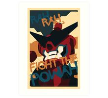 RAH RAH FIGHT THE POWER Art Print