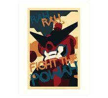 RAH RAH FIGHT THE POWER Art Print