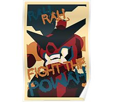 RAH RAH FIGHT THE POWER Poster
